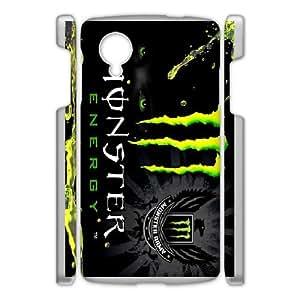 Google Nexus 5 Phone Case Monster Energy W9S20654