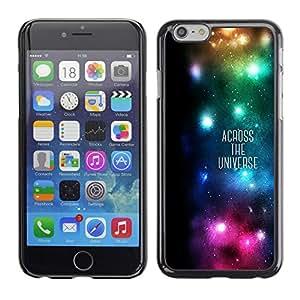 King Case - FOR iPhone 6 - Across The univase - Caja protectora de pl??stico duro Dise?¡Àado