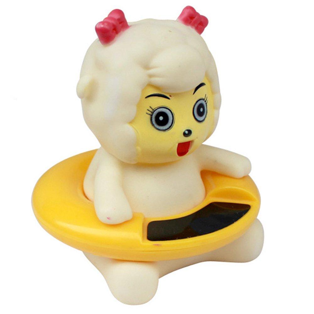 Karikatur Digital Wasser Thermometer Baby Badethermometer Wei/ß-Schaf Anti-Hei/ßer Elektronischer Thermometer Schwimmende Badespielzeug f/ür Kleinkinder