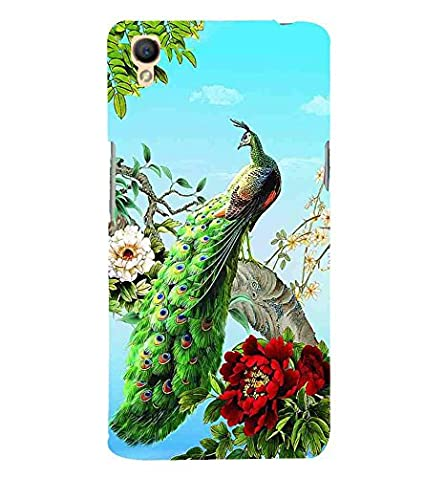 For Oppo A37 peacock Printed Cell Phone Cases, nature