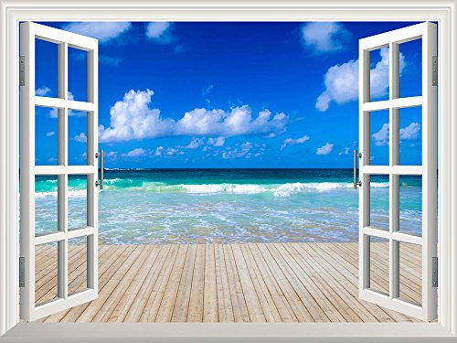 wall26-removable-wall-sticker-wall-mural-tropical-sea-under-the-blue-sky-creative-window-view-home-d