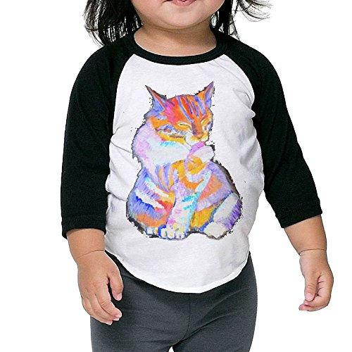 SH-rong Rainbow Cat Kids Essential Tshirt Size4 - Siege Sunglasses