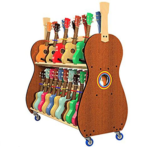 The Band Room Soprano Ukulele Classroom Storage Cart