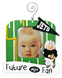 NFL New York Jets Field Future Fan Picture Frame Christmas Ornament, Small, Multicolored