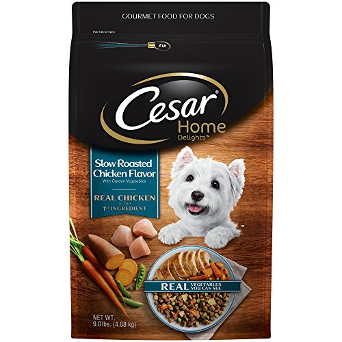 Cesar Home Delights Dry Dog Food Slow Roasted Chicken Flavor With Garden Vegetables, 9 Lb. Bag Review