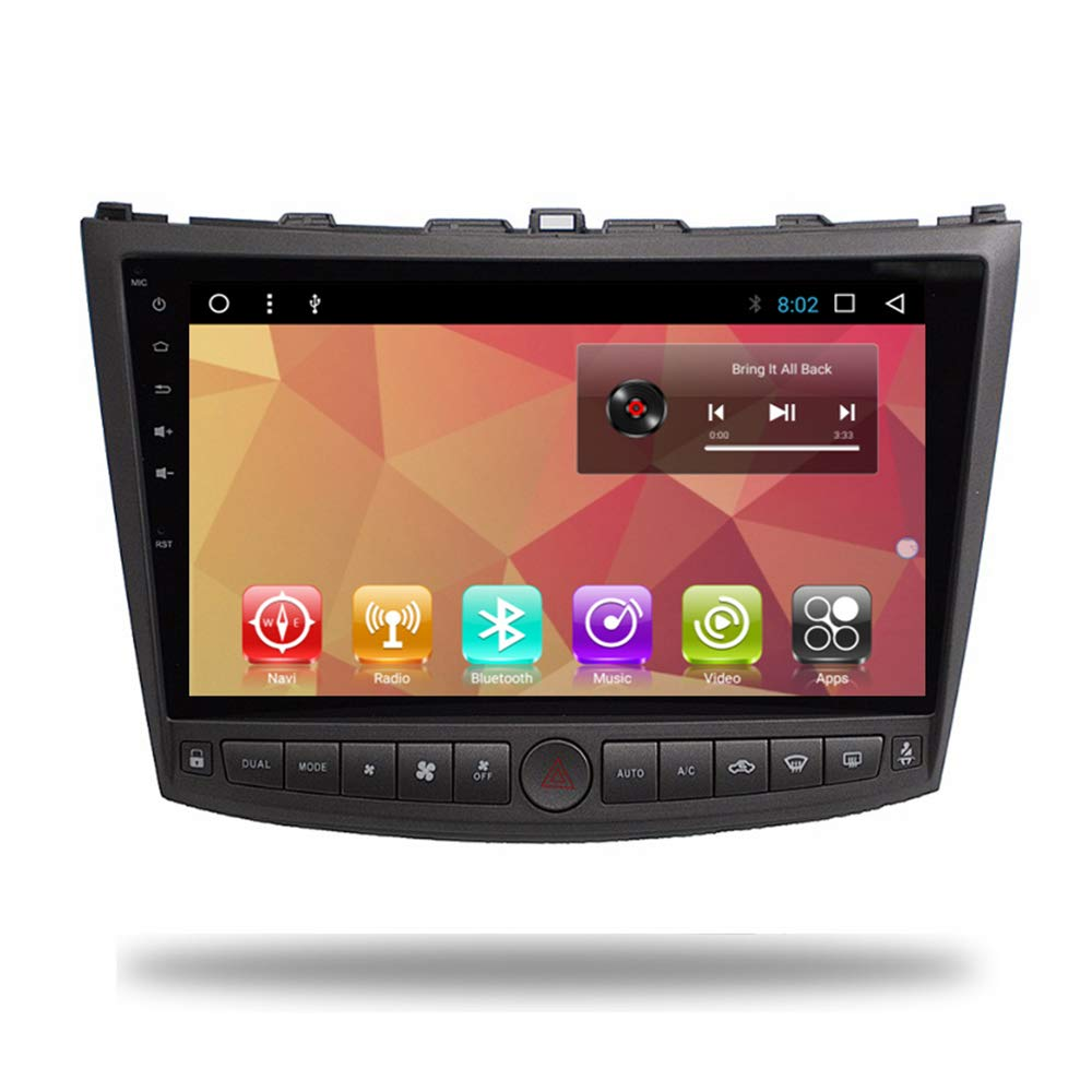 Android 7.1 Car Radio GPS Navi Player for Lexus IS250 IS200 IS220 IS300 Head Unit Car GPS Stereo Multimedia Video in Dash Audio WiFi Bluetooth Navigaton ...