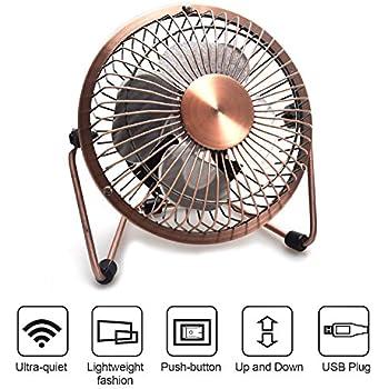 Beautiful MBSSHI Mini USB Desk Fan, Laptop Cooler Cooling Personal Fan, Desktop Small Table  Fan
