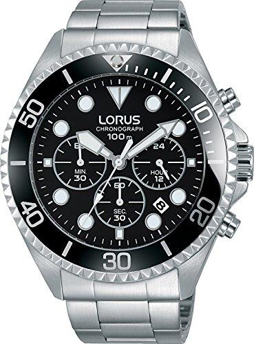 LORUS Orologio Cronografo Quarzo Uomo con Cinturino in Acciaio Inox  RT319GX9 Amazon.it Orologi