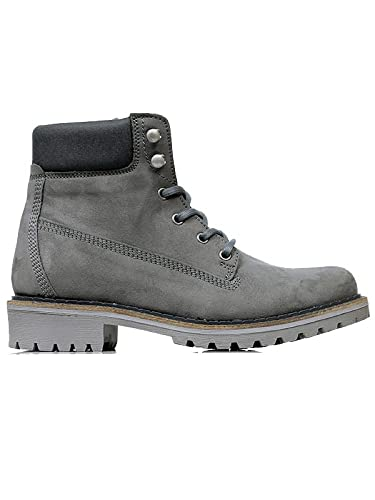 a021e8f549 Will s Vegan Shoes Women s Dock Boots Grey  Amazon.co.uk  Shoes   Bags