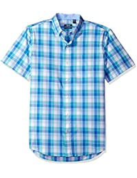 IZOD Men's Advantage Performance Easycare Plaid Short...