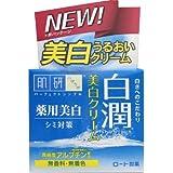 【医薬部外品】肌ラボ 白潤 薬用美白ジェル状クリーム 高純度アルブチン×ビタミンC配合 50g