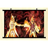 1 X Naruto Fabric Wall Scroll Poster 24*16 Inches by Unknown