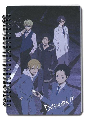 Great Eastern Entertainment Durarara!! Celty, Mikado, Izaya Notebook Great Eastern Entertainment Inc. 4050