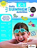 Evan-Moor Daily Summer Activities, Between Kindergarten and 1st Grade Activity Book; Summer Bridge Activities for Kids
