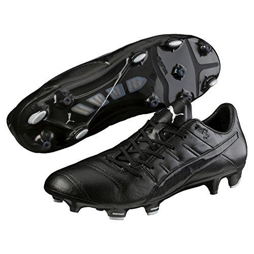 Bota de fútbol Puma evoPOWER 1.3 Piel FG Black black-black-black