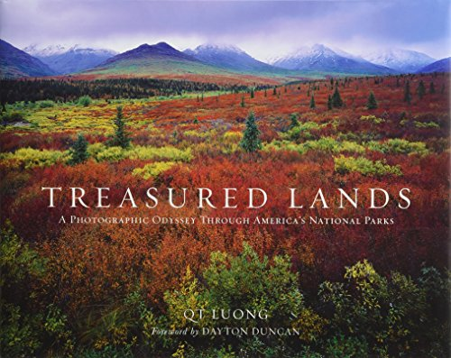 Treasured Lands: A Photographic Odyssey Through America's National Parks (First People To Land On The Moon)