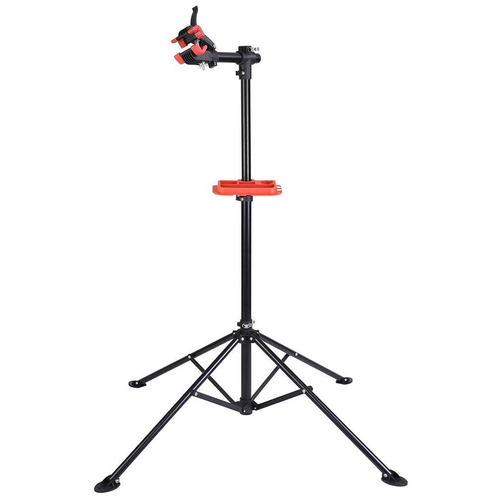 Adjustable Repair Stand w/Telescopic Arm Cycle Bicycle Rack 42'' To 74'' Rotate 360 Degrees