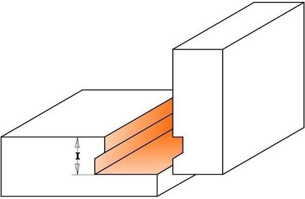CMT Orange Tools 955.008.11 Fresa para cajones hw s 8 d 25,4x12,7