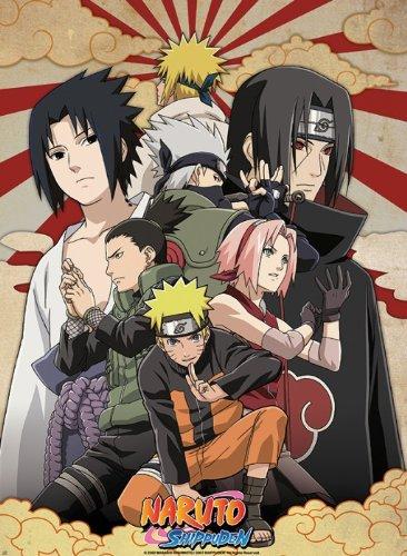 Naruto Shippuden Poster Shippuden Group 2