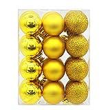 Christmas Balls,vmree 24Pcs(30