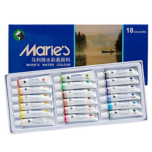 maries-extra-fine-watercolor-set-of-1812-ml-tubes