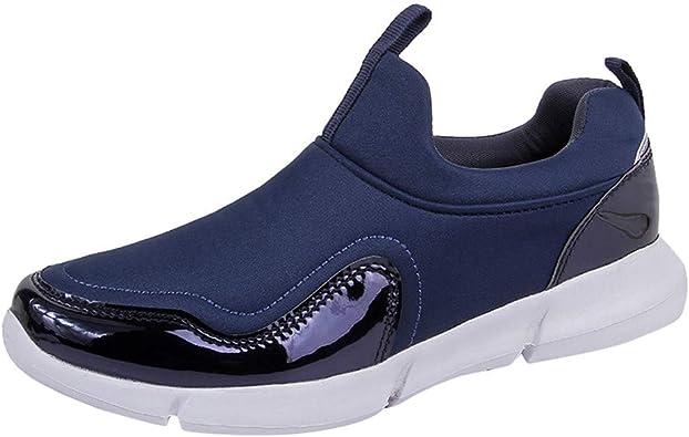 Sylar Zapatos De Mujer Otoño Simple Cosiendo Zapatillas De Running CóModo Conveniente Elasticidad Zapatillas De Running Zapatos De Fitness: Amazon.es: Zapatos y complementos