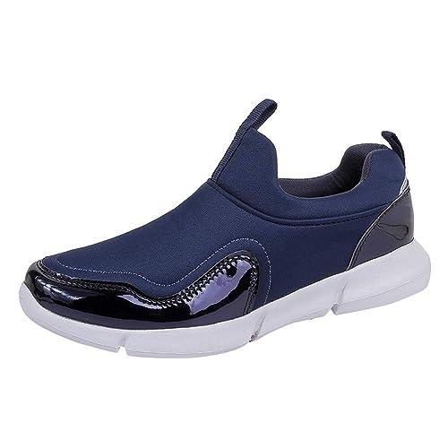Logobeing Pareja Mujer Malla Exterior Zapatillas Deportivas Casuales Zapatillas Zapatillas Inferiores Suaves Zapatillas de Deporte Plataforma