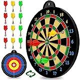 Magnetic Dart Board - 12pcs Magnetic Darts