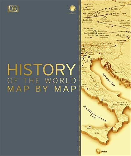 History of the World Map by Map from DK