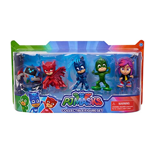 PJ Masks Collectible Figure Set - 5Piece