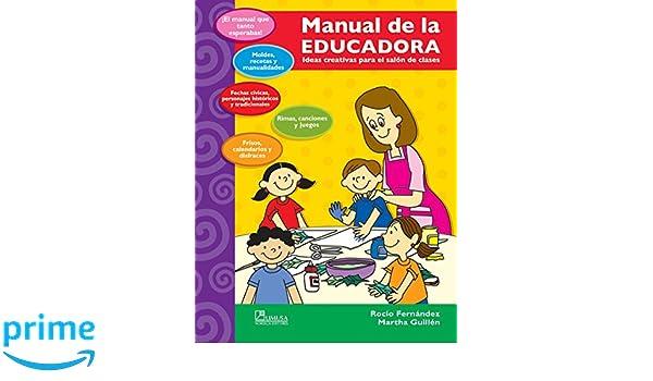 Manual de la educadora/ Teachers Manual: Ideas Creativas Para El Salon De Clases (Spanish Edition): Rocio Fernandez: 9789681867393: Amazon.com: Books