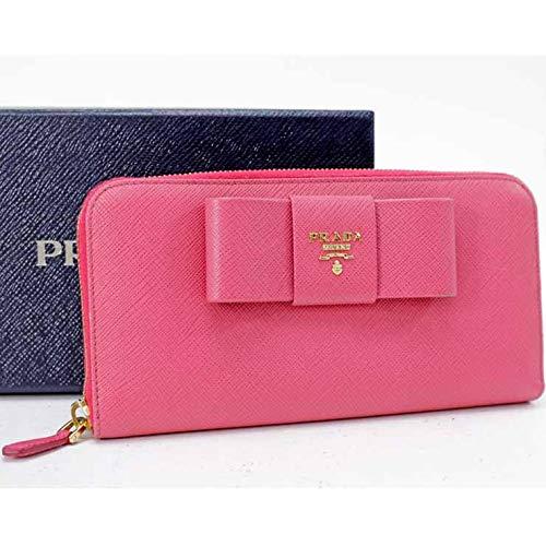 premium selection d0649 cae6d Amazon   PRADA(プラダ) サフィアーノ 長財布 1ML506 ピンク ...