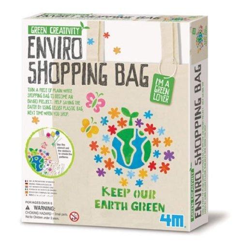 4M Green Creativity Enviro Shopping Bag by 4M