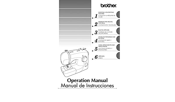 Brother XL-2600 XL-2600i XL-2610 Sewing Machine Owners Instruction Manual: There and Back: Amazon.com: Books