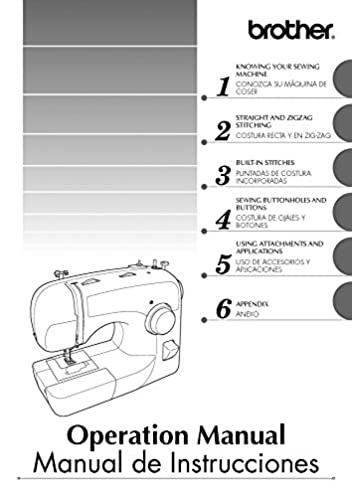 brother xl 2600 xl 2600i xl 2610 sewing machine owners instruction rh amazon com brother xl2600i instruction manual brother xl2600i manual download