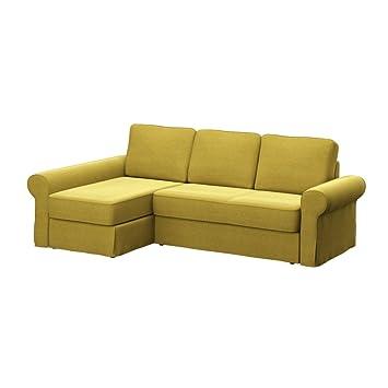 Amazon.de: Soferia - Bezug fur IKEA BACKABRO 2er-Sofa mit Recamiere ...