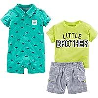 Simple Joys by Carter's Boys' Infant 3-Piece Playwear Set,