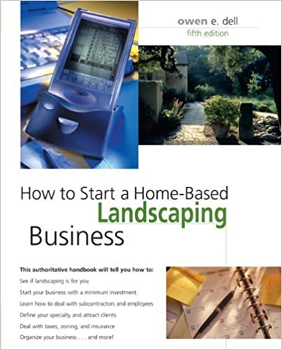 Read How to Start a Home-Based Landscaping Business, 5th (Home-Based Business Series) PDF