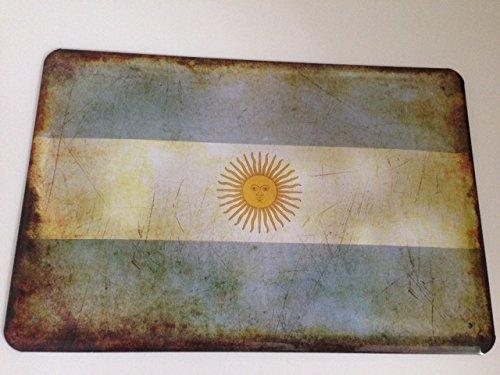 Cartel de chapa Países bandera Bandera de Argentina ...