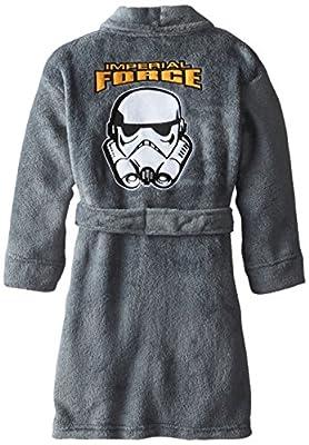 Star Wars Big Boys' Star Wars Solid Fleece Robe