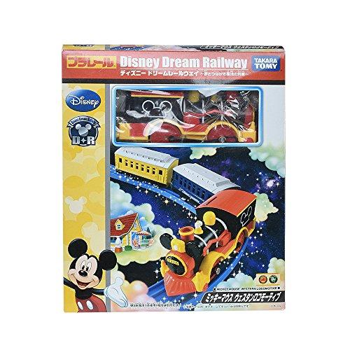 (Takaratomy Plarail Disney Dream Railway Mickey Mouse Western Locomotive (Japan Import))