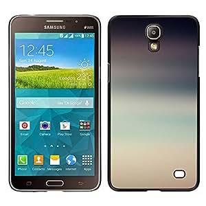 Samsung Galaxy Mega 2 / SM-G750F / G7508 Único Patrón Plástico Duro Fundas Cover Cubre Hard Case Cover - Blur Sky Summer Nature Clouds