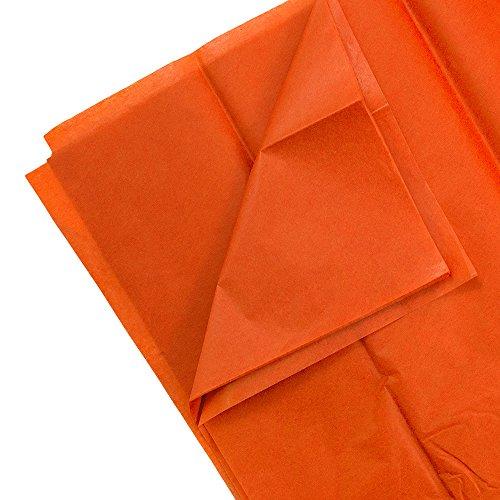Tissue Paper Halloween Crafts (JAM PAPER Tissue Paper - Orange - 10)