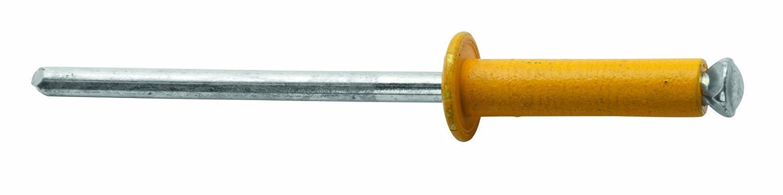 /ø4.8 mm Rapid 5000404 4,8x16mm 4 Farben Blindniete f/ür KFZ 32 St/ück Incl Bohrer