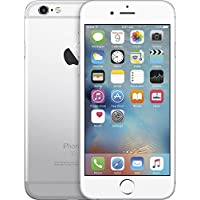 Apple iPhone 6 64GB Silver 4.7 4G LTE Factory Unlocked...