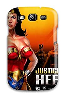 For LUpDUmW17497vFvDU Justice League Protective Case Cover Skin/galaxy S3 Case Cover
