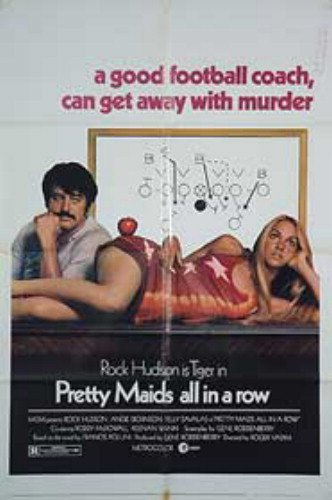 Pretty Maids All In A Row Rock Hudson Angie Dickinson Original Movie Poster