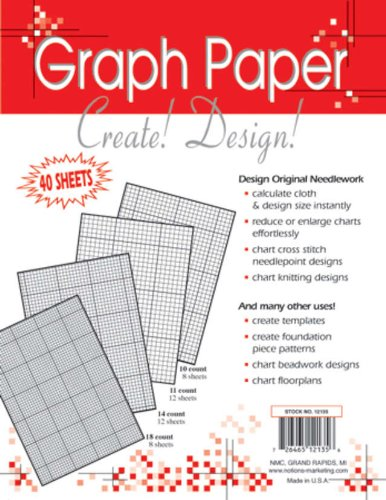 Crafters Helper Needlework 8.5x11 Graph Paper