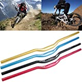 MTB Mountain Bike Bicycle Aluminum Alloy 31.8 x 780 mm Riser Handlebar Black