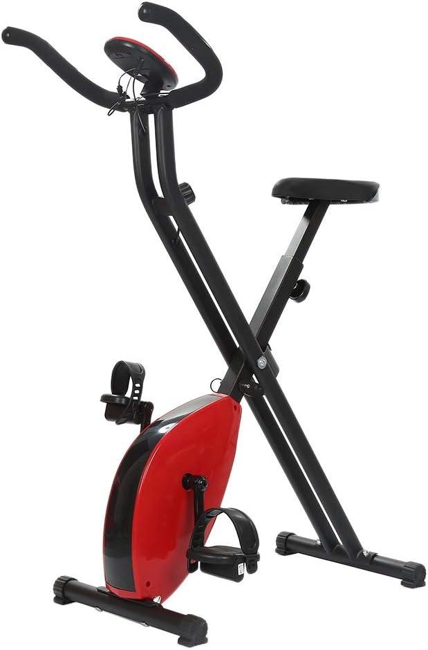 Burgundy EinheitsGröße BESTSOON Indoor Cycling Heimtrainer Indoor Cycling Fahrrad Spinning-Fahrrad-Heimtrainer Fitnessausrüstung Pedal Lauf d Indoor Fitness (Farbe   Burgundy, Größe   Einheitsgröße)